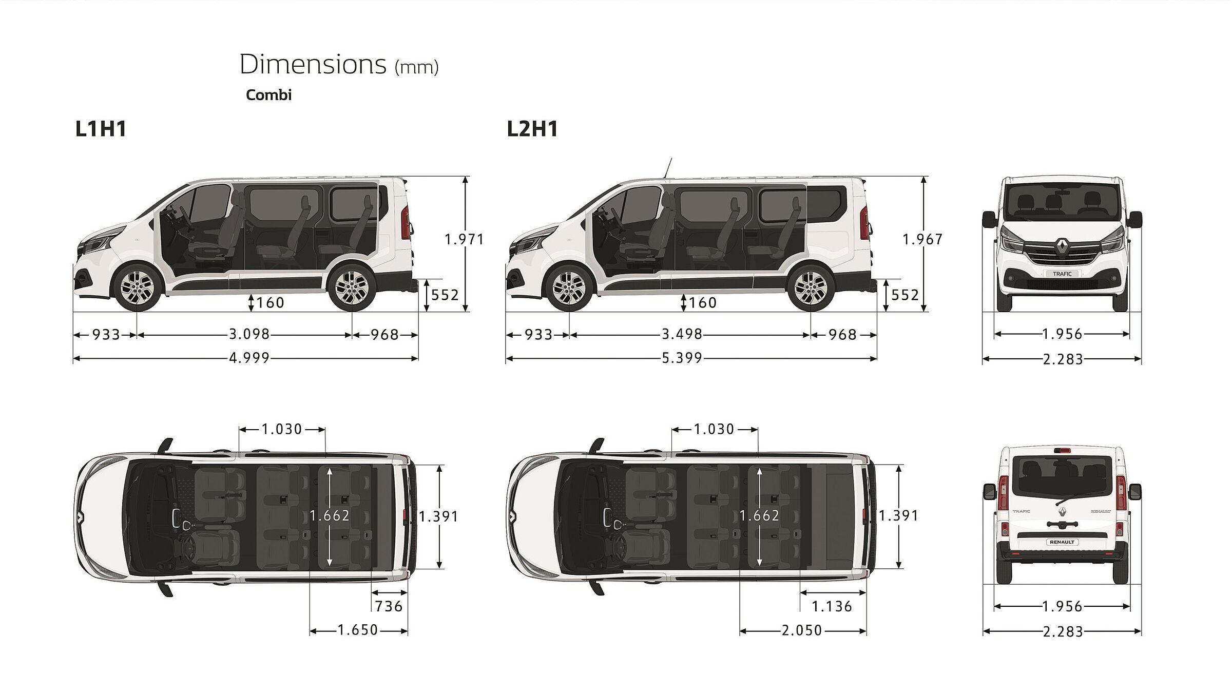 Renault Trafic Combi & SpaceClass Autozentren P&A-Preckel