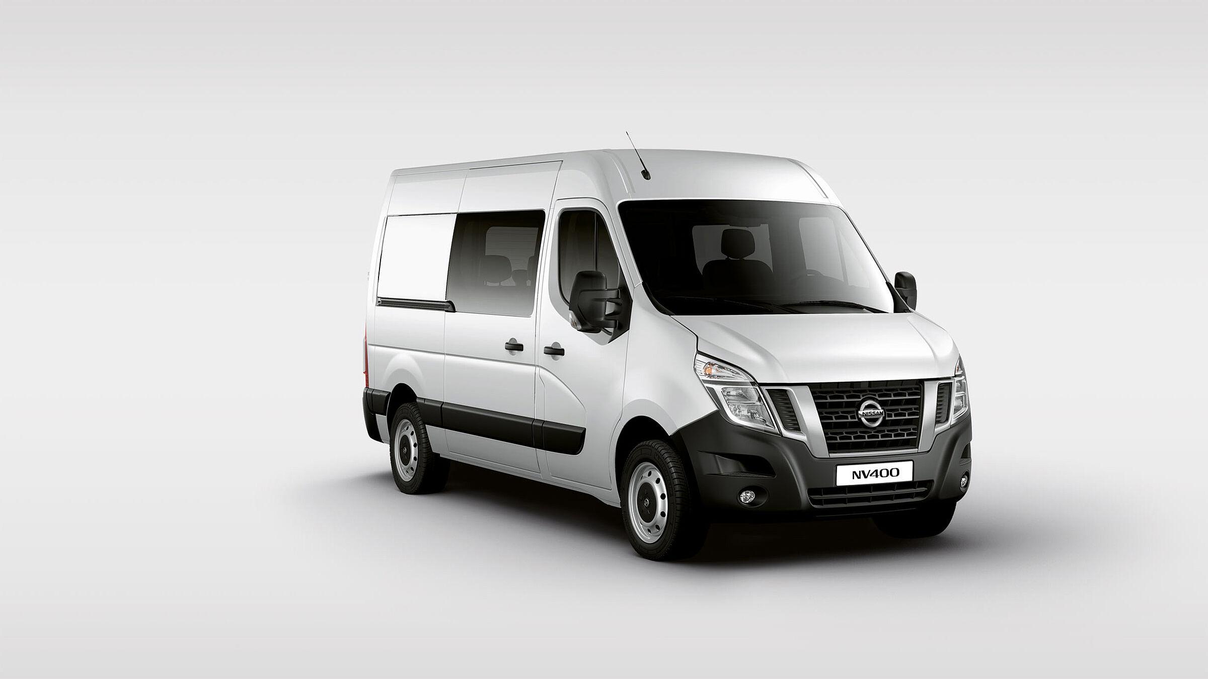 Nissan NV400 Doppelkabine Autozentren P&A-Preckel