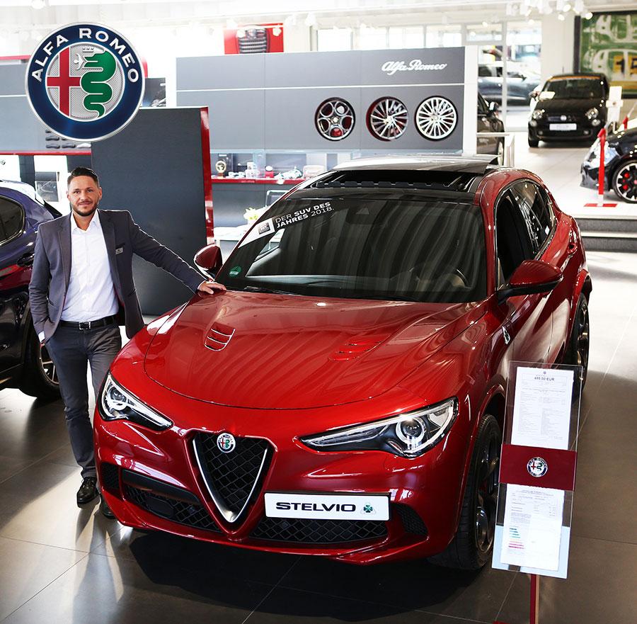 Alfa Romeo im Autozentrum P&A-Preckel