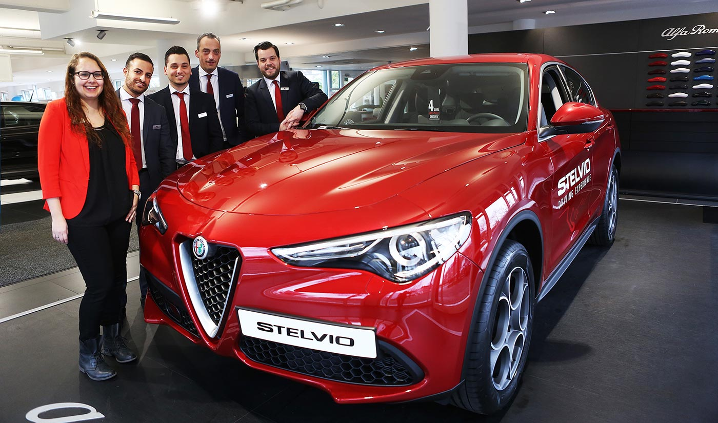 Premiere: Alfa Romeo Stelvio SUV