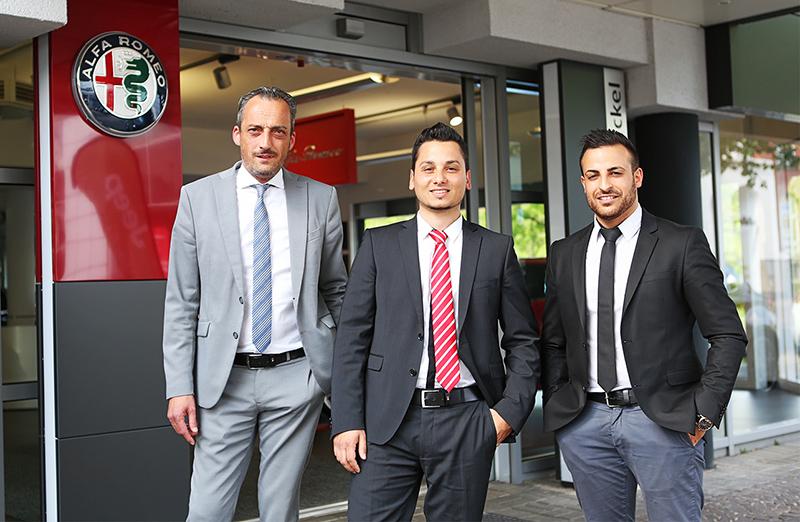 Mitarbeiter Alfa Romeo Krefeld