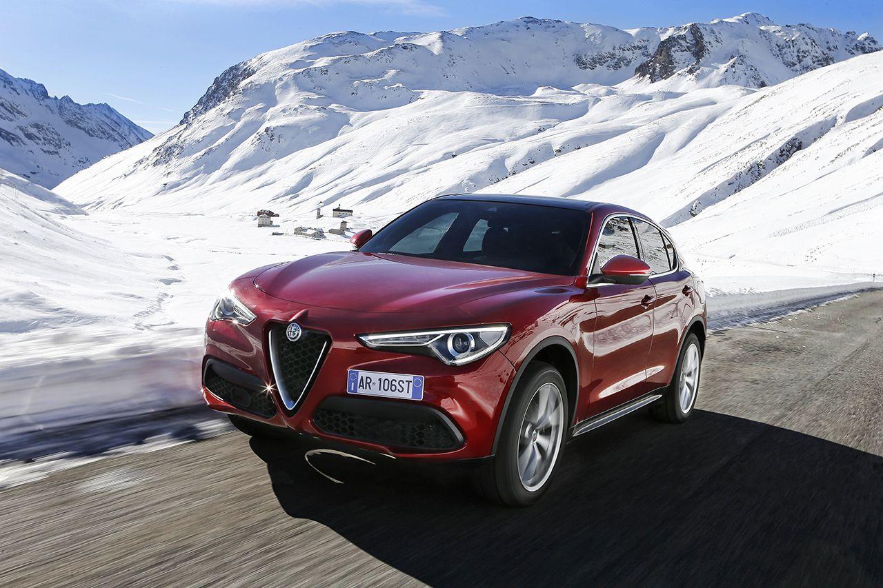 Alfa Romeo Stelvio Außenansicht Vorne