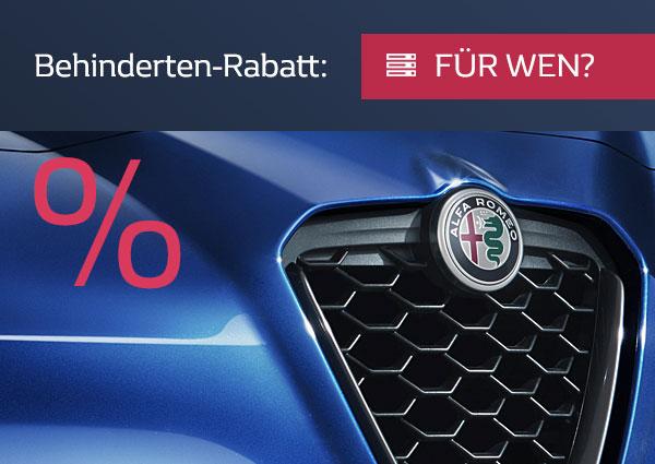 Für wen gelten die Rabatte bei Alfa-Romeo?