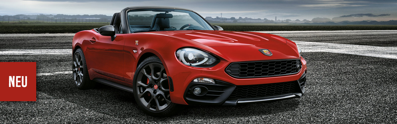 Abarth 124 Spider im Autozentrum Preckel