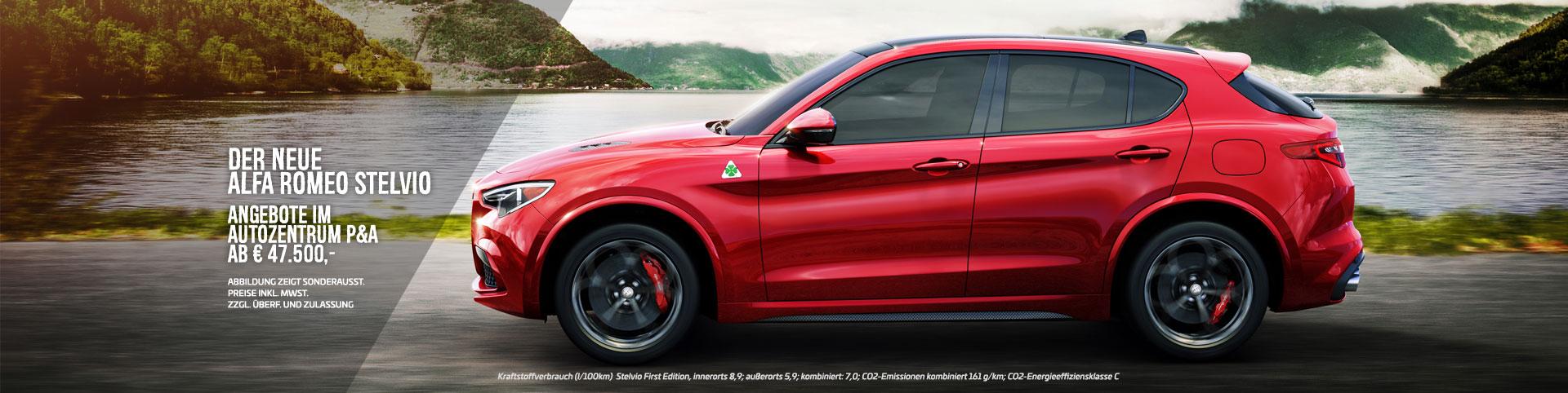 Neuer Alfa Romeo Stelvio
