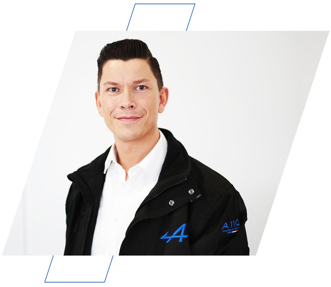 Alpine Verkaufsberater Tobias Vogel