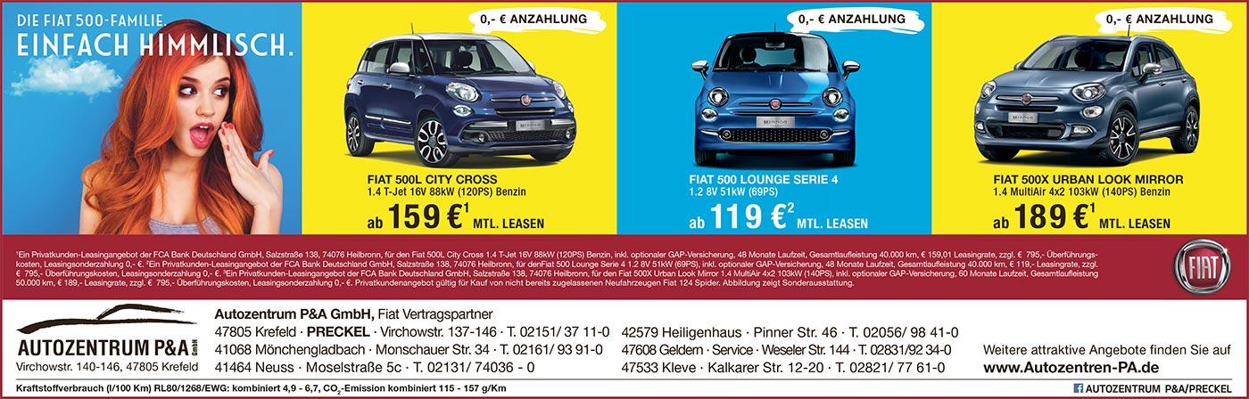 Fiat PKW Leasing Angebote