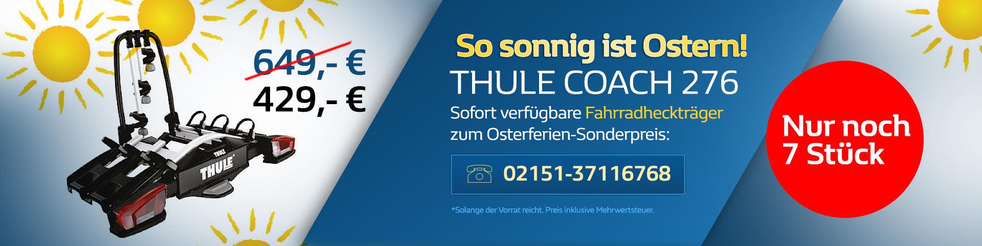 Thule Coach 267 Fahrradheckträger Angebot