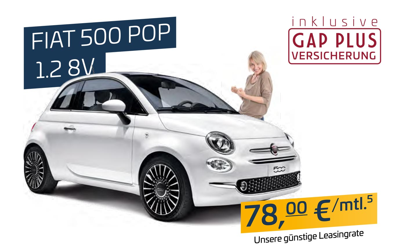 Fiat 500 für Pflegedienste bei P&A