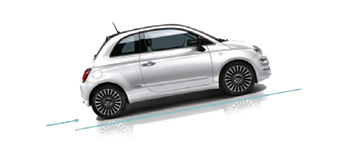 Berganfahrhilfe Fiat 500