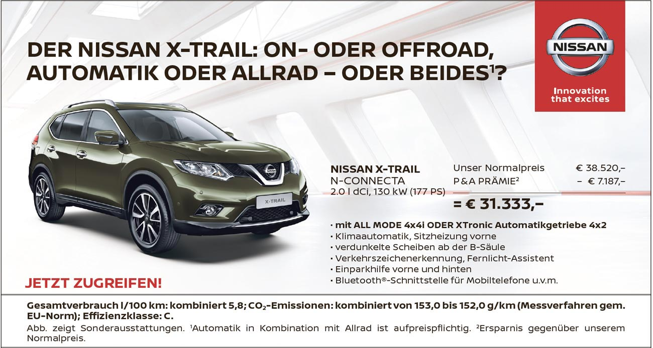 Nissan X-Trail Angebot