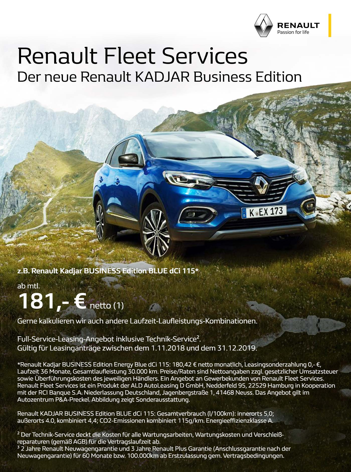 Kadjar Business Leasing