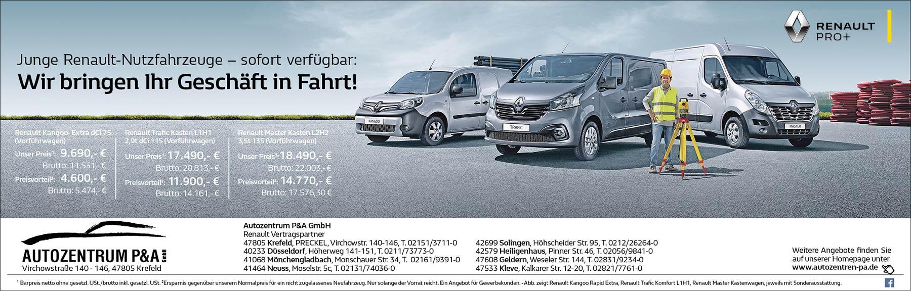 Renault Transporter: Junge Dienstwagen