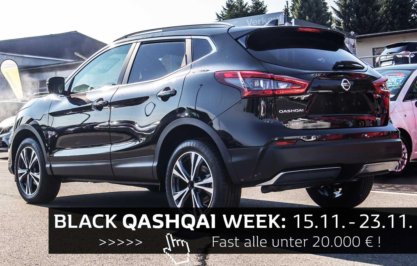 Black Qashqai Week
