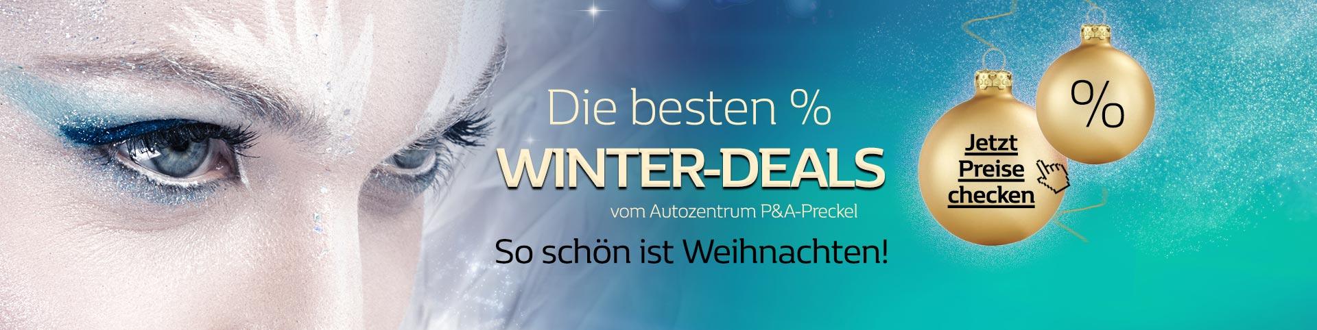 Die besten Winter-Angebote vom Autozentrum P&A-Preckel