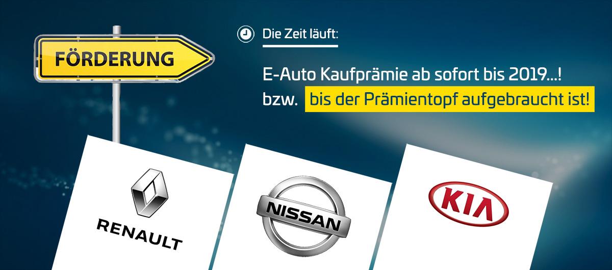 Kaufprämie für Elektroautos