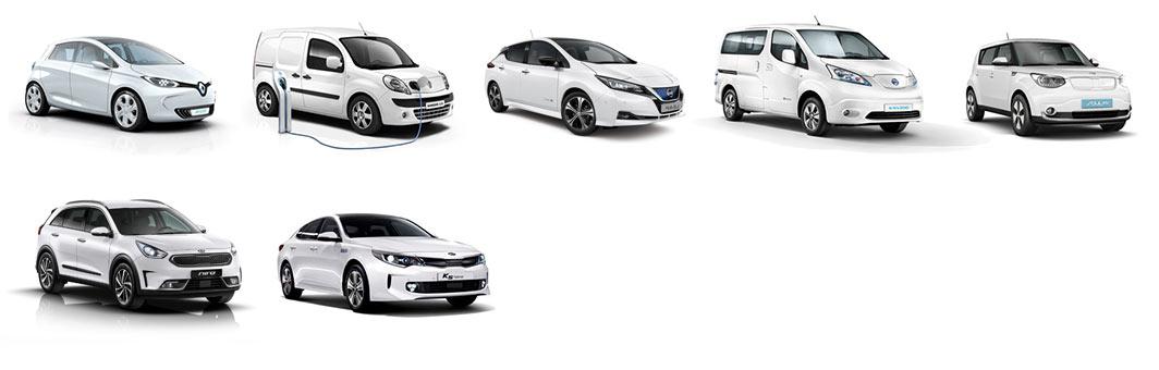 P&A-Preckel bietet Elektroautos und Hybridautos an