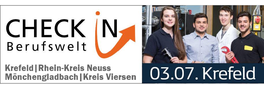 Check In Berufswelt am 3.7. bei Preckel in Krefeld