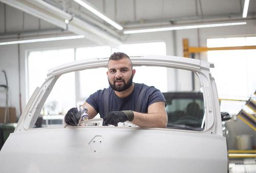 Ausbildung zum Fahrzeuglackierer