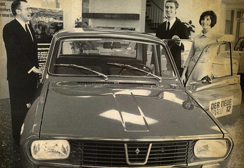 Renault 12 mit Kurt Preckel, Horst-Dietmar Preckel