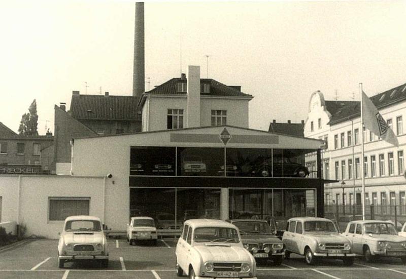 Stammsitz in Krefeld von Preckel