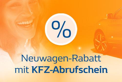 KFZ-Abrufschein für PKW-Vergünstigungen
