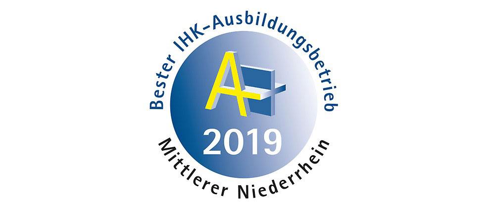 Bester Ausbildungsbetrieb 2019 am mittleren Niederrhein