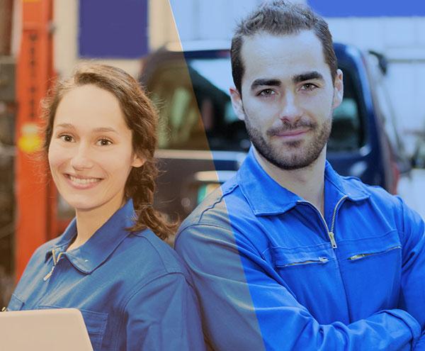 Berufe und Ausbildung im Autozentrum P&A-Preckel