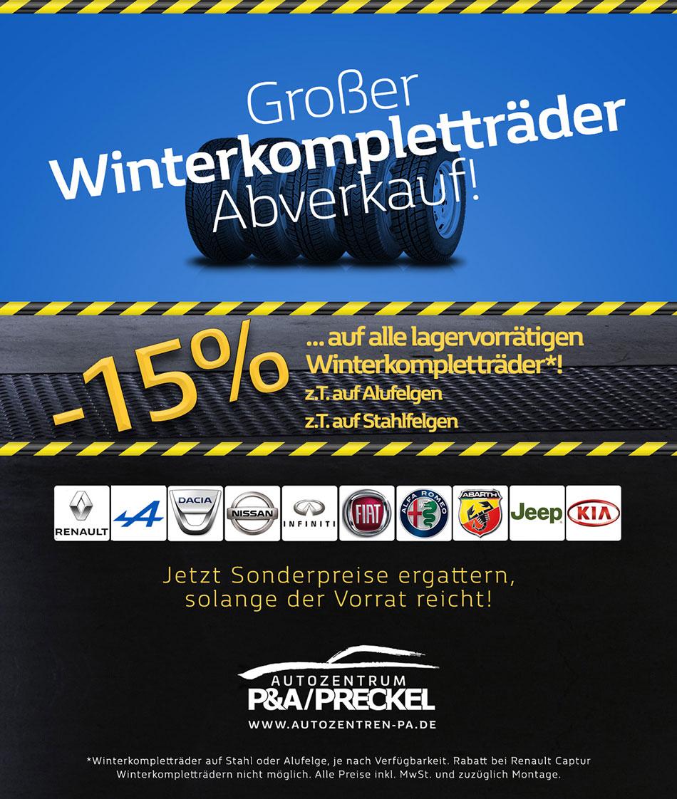 Winterkompletträder Lagerverkauf