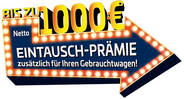 Transporter Eintauschprämie 1000 Euro