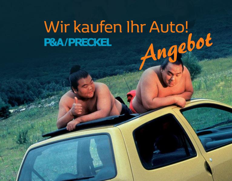 Wir kaufen Ihr Auto