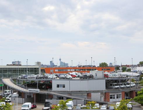 Gebrauchtwagen Automeile Höherweg Düsseldorf