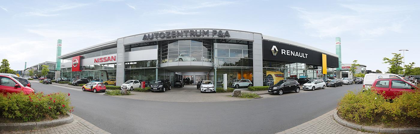 Renault, Dacia und Nissan im Autozentrum P&A Düsseldorf
