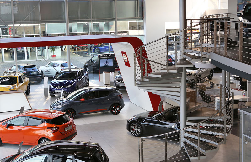 Nissan Showroom P&A