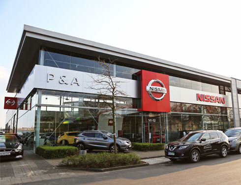 Nissan in Düsseldorf