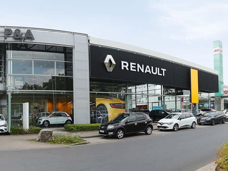 Renault Düsseldorf Autozentrum P&A