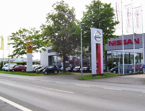 Nissan Geldern P&A Preckel Filiale