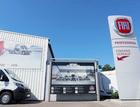 Fiat Professional Transporter von der HDG in Grevenbroich