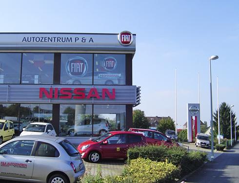 Nissan P&A Preckel Heiligenhaus Händler