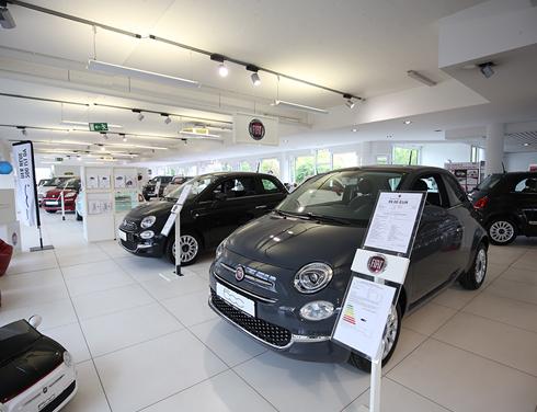 Fiat im Autozentrum Preckel