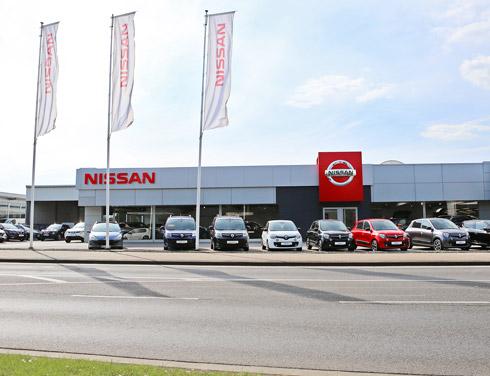 Nissan in Mönchengladbach vom Autozentrum P&A