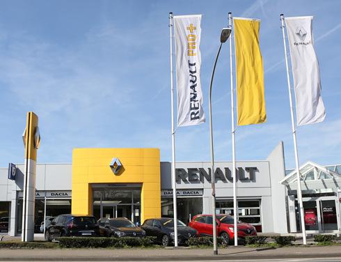Renault Mönchengladbach Krefeld Autohaus P&A
