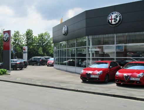 Alfa Romeo Mönchengladbach im Autozentrum P&A