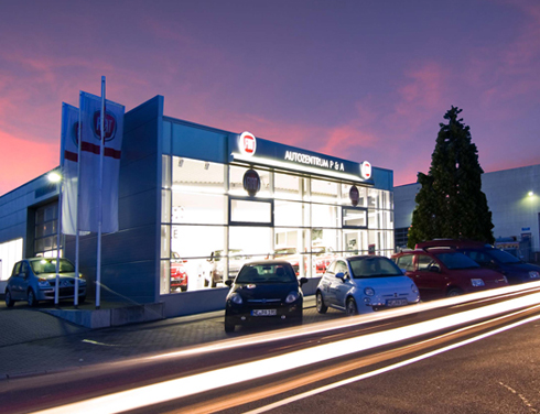Fiat in Neuss Autohändler P&A Preckel