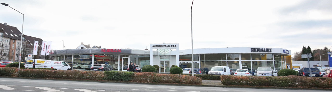 Standort Solingen vom Autozentrum P&A