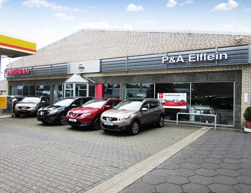 Nissan Willich P&A Preckel Autozentrum