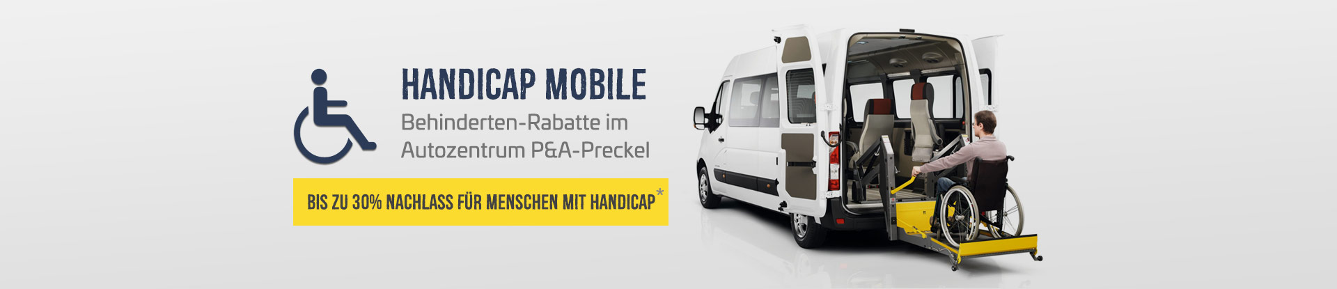 Handicap Mobile vom Autozentrum P&A-Preckel
