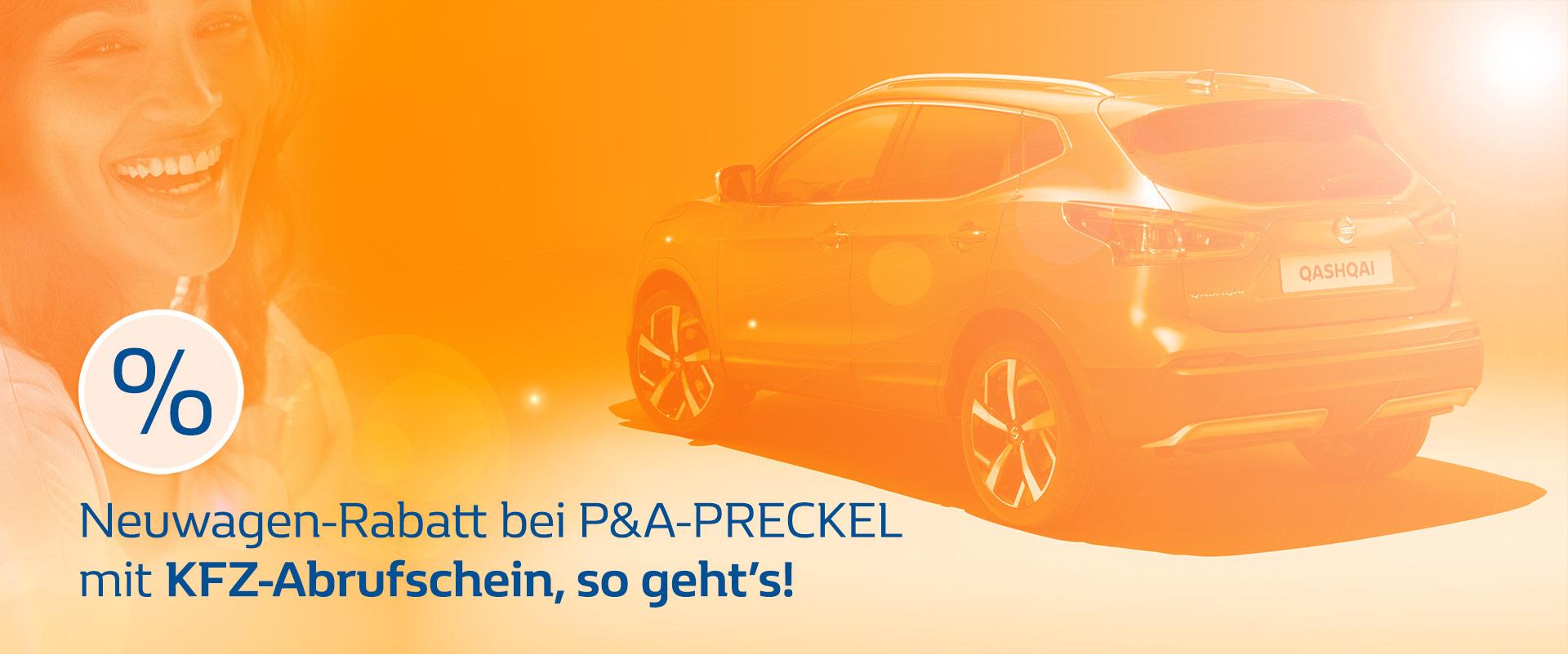 KFZ-Abrufschein für Neuwagen-Rabatte