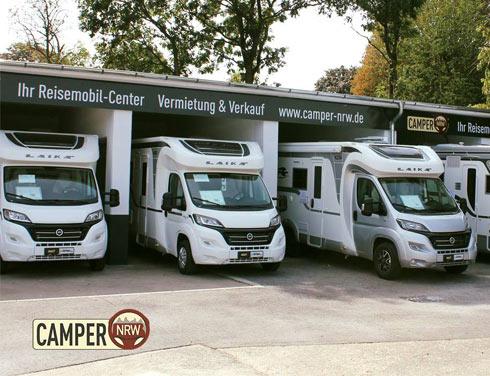 CAMPER-NRW Wohnmobil Verkauf und Vermietung in Heiligenhaus