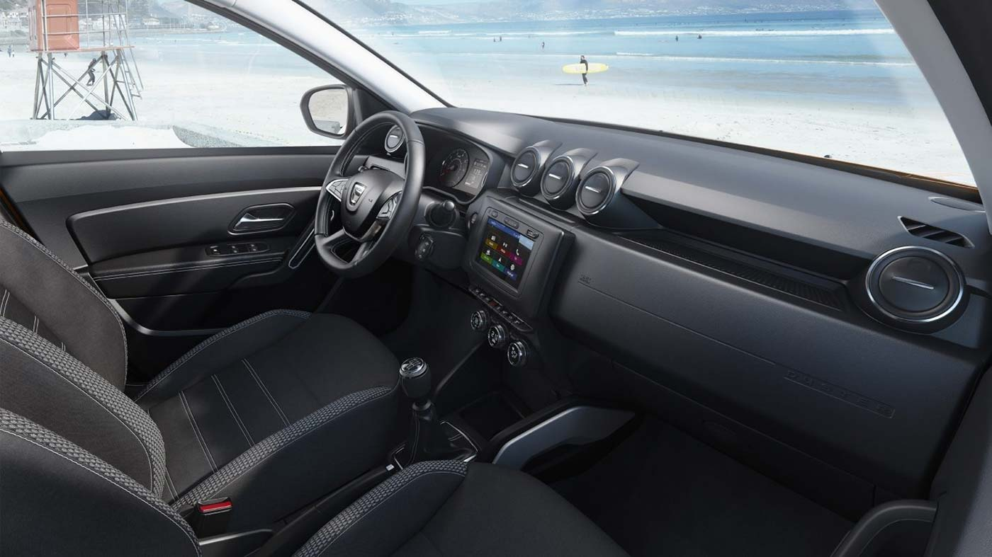 Innenraum beim neuen Dacia Duster 2018